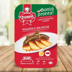 Polenta et Saucisse