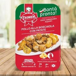 Pollo alla Boscaiola con Patate