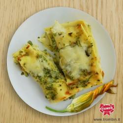 Lasagne zucchini e fiori