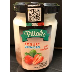 YOGURT PITTALIS IN VETRO ALLA FRAGOLA 140 GR
