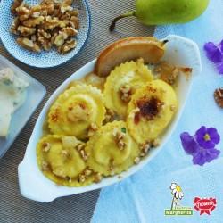 Gransole Bufalotto e Scamorza con pere e gorgonzola